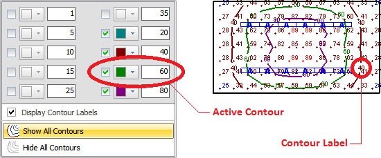 8 5 2 3 Setting and Displaying Contours